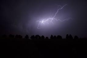Burza w Sudetach